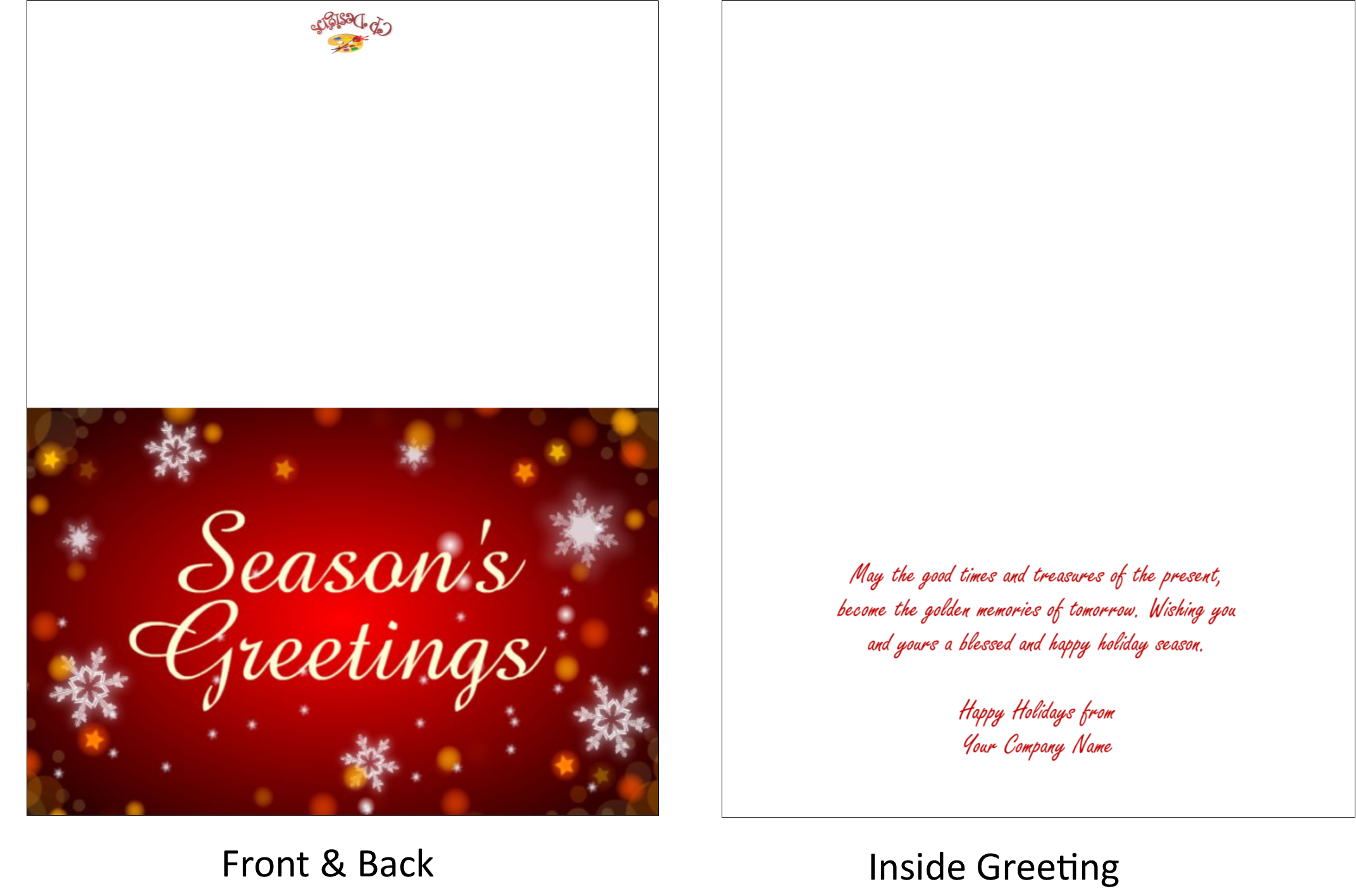 Seasons Greeting Cards Creative Presse