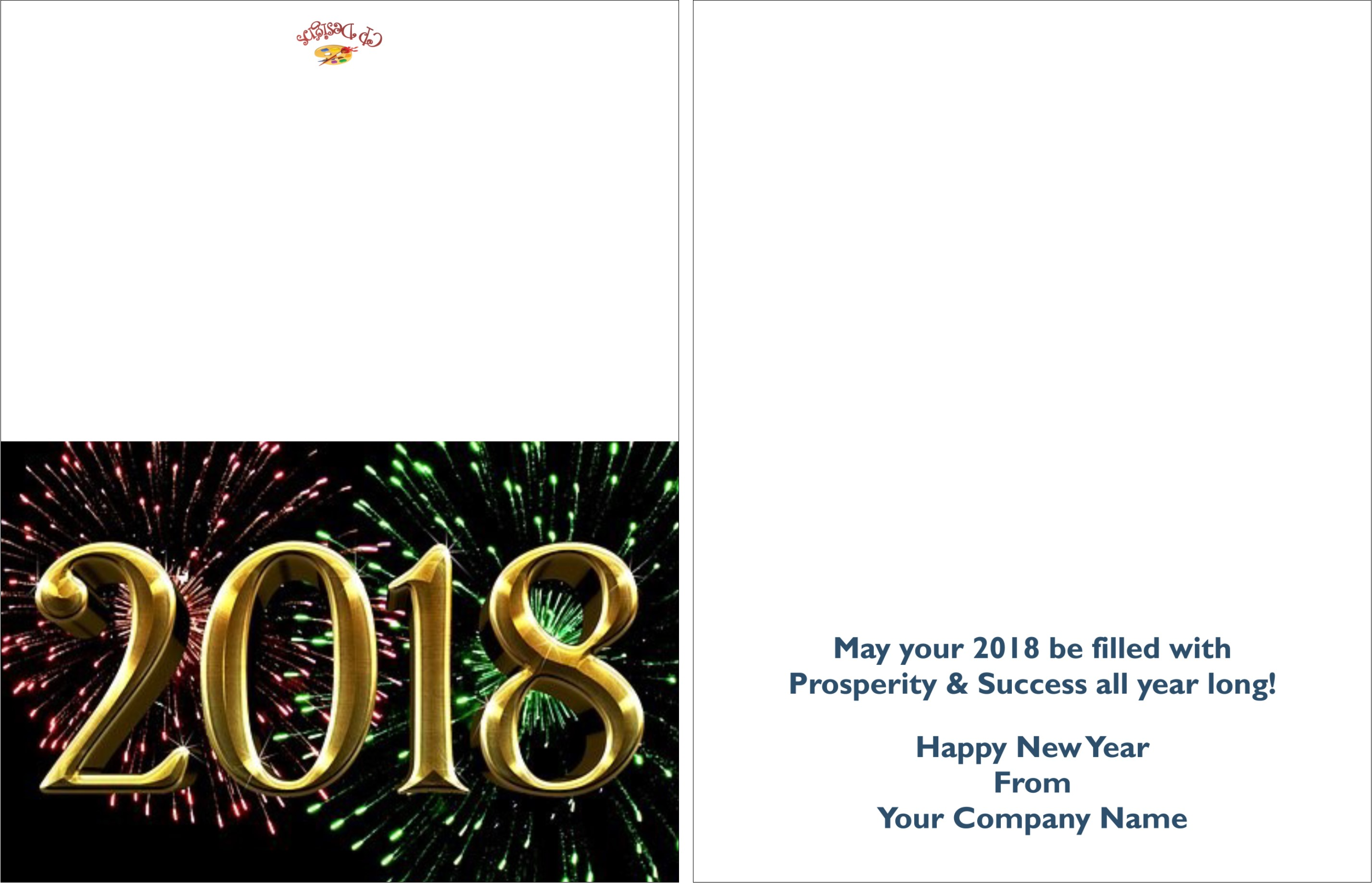 New years greeting cards creative presse hpn1 kristyandbryce Images