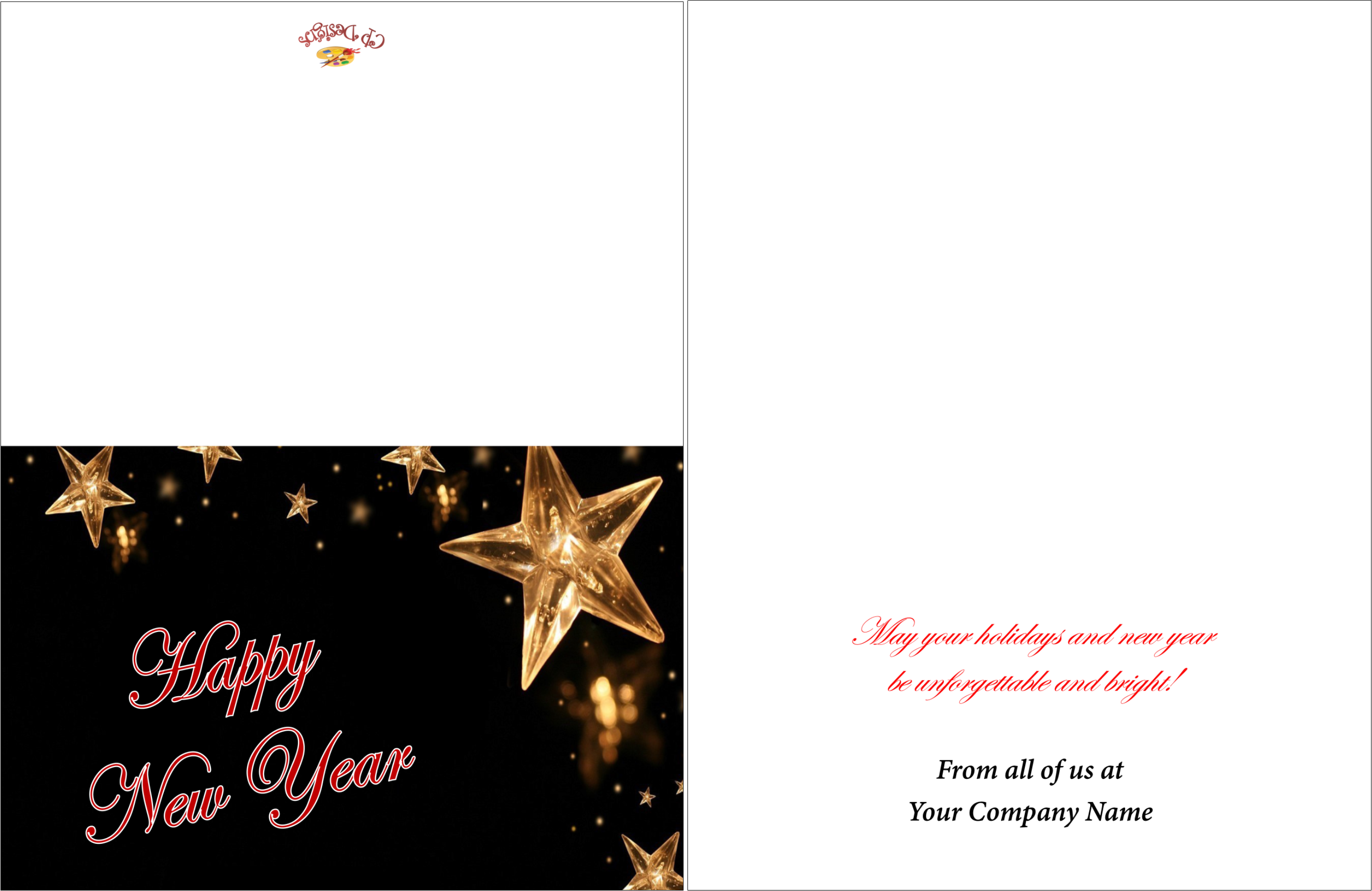 New Years Greeting Cards – Creative Presse