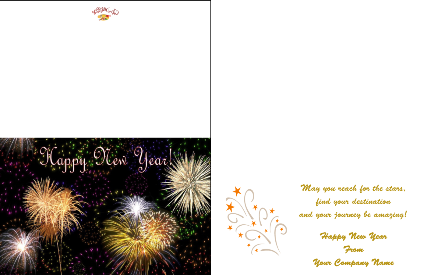 New years greeting cards creative presse new years greeting cards m4hsunfo